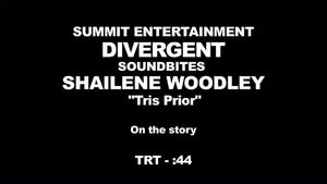 Divergent - Shailene Woodley Interview 'On the Story'