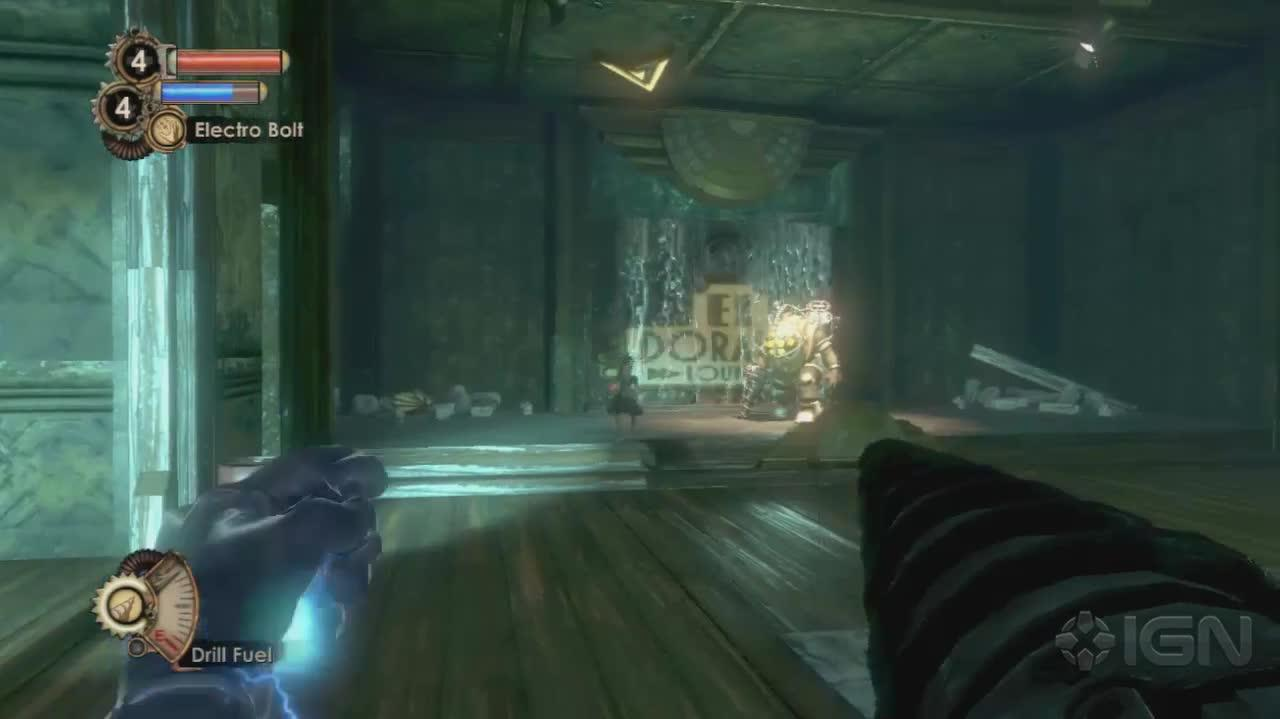 BioShock 2 - Kill a Daddy, Adopt a Sister - Gameplay