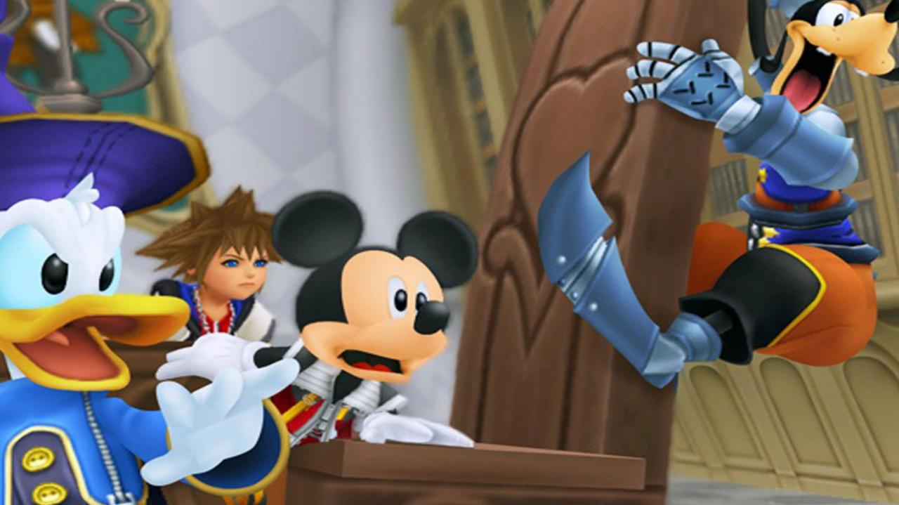 Kingdom Hearts Re Coded Mysterious Page Gameplay