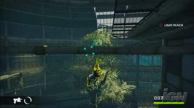 Bionic Commando PlayStation 3 Gameplay - Aerial Acrobatics