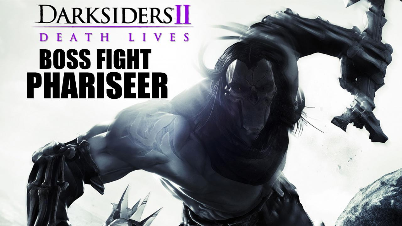 Darksiders II Boss Fight Phariseer - Gameplay