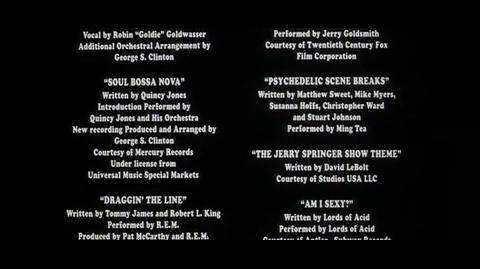 Austin Powers The Spy Who Shagged Me - ending credits