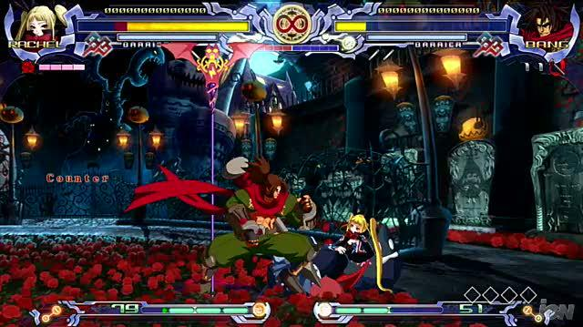 BlazBlue Calamity Trigger (Limited Edition) PlayStation 3 Gameplay - Vampires and Ninja
