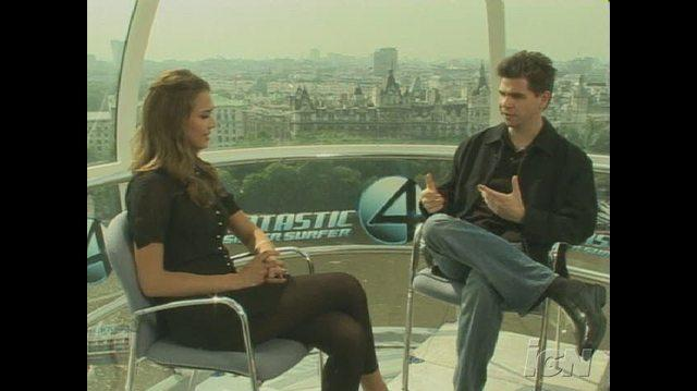 Fantastic Four Rise of the Silver Surfer Movie Interview - Jessica Alba 2007 06 14