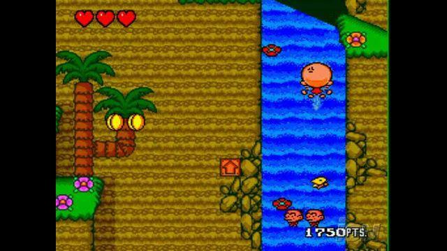 Bonk's Revenge Nintendo Wii Video - Revenge in Action