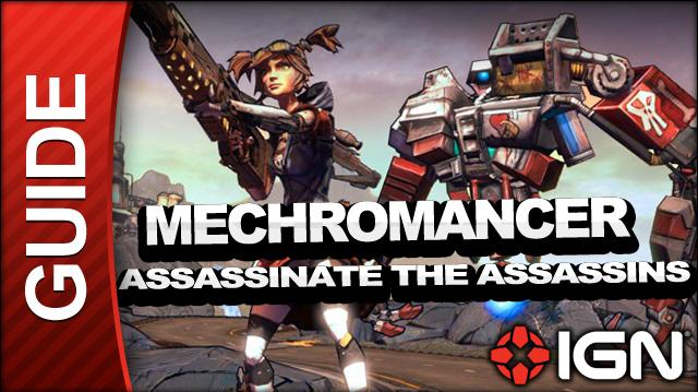 Borderlands 2 Mechromancer Walkthrough - Assassinate the Assassins - Side Mission(a)
