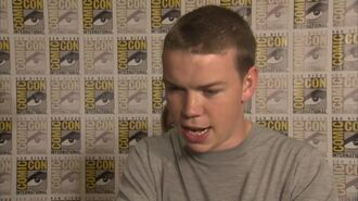 """The Maze Runner - Will Poulter """"Gally"""" Interview"""