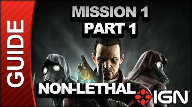 Dishonored - Knife of Dunwall DLC - Low Chaos Walkthrough - Mission 1 A Captain of Industry pt 1-1