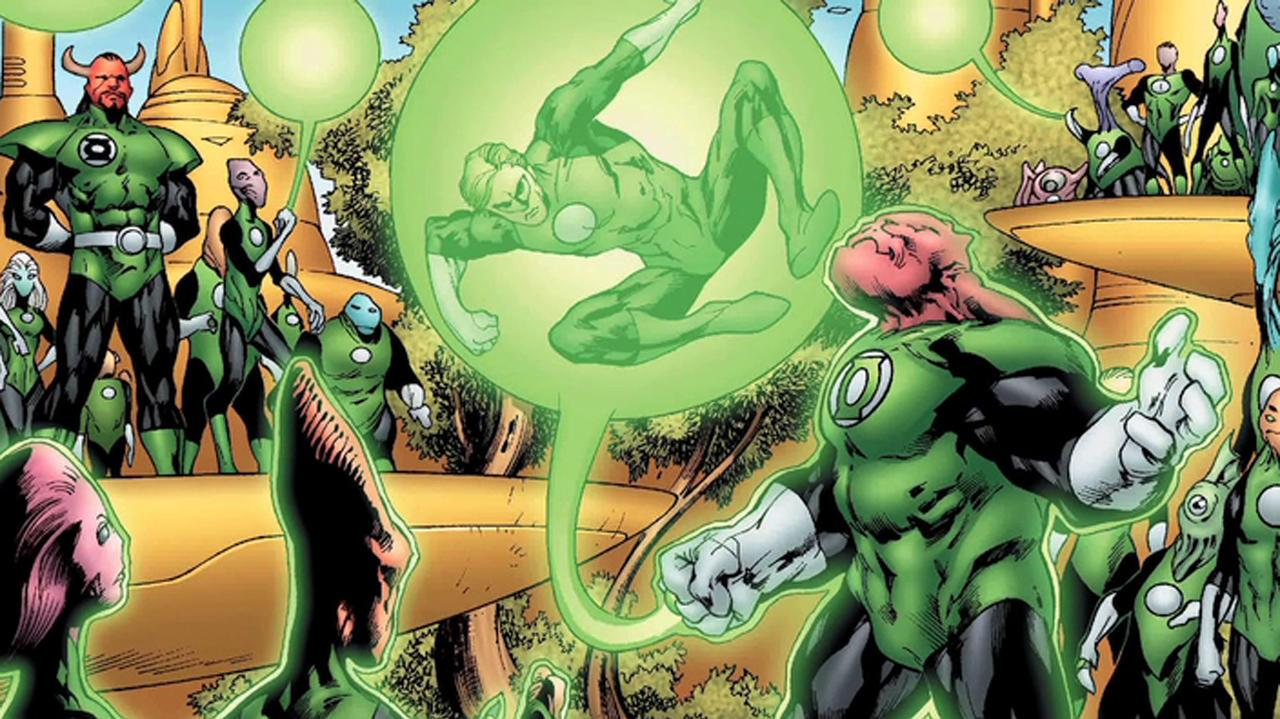 Creating the Green Lantern Corp