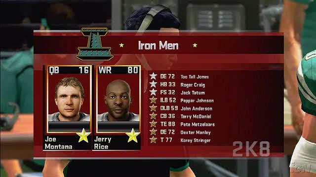 All-Pro Football 2K8 Xbox 360 Gameplay - We Want Heads!