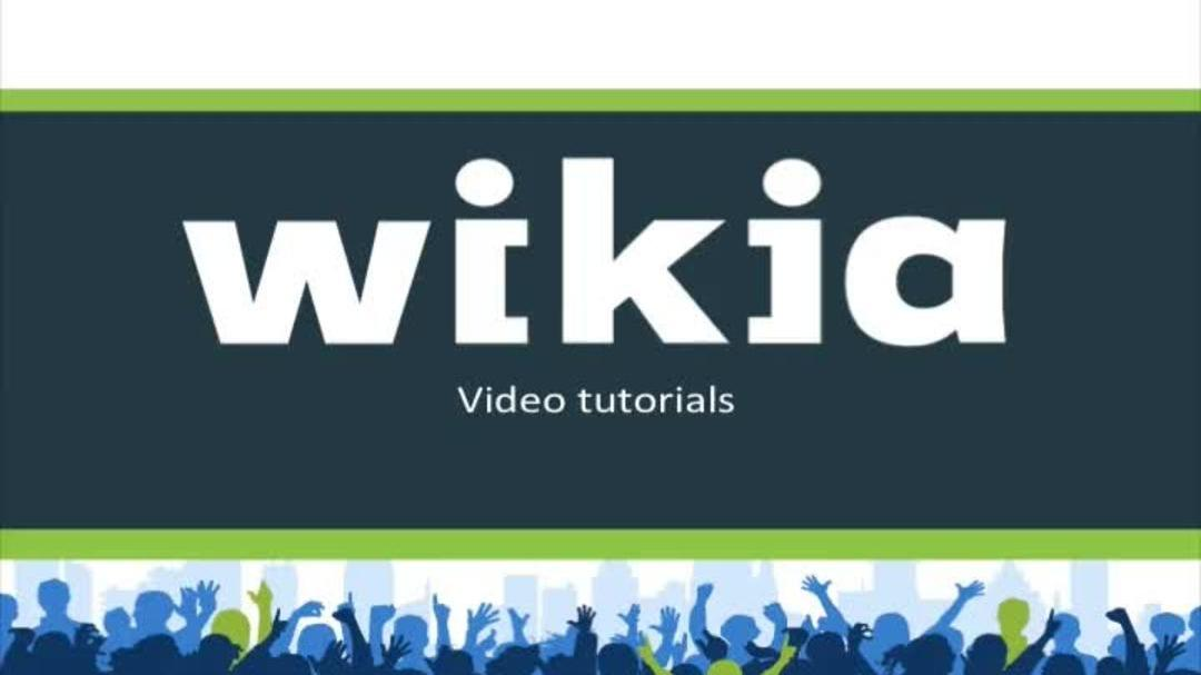 How To Wiki Features