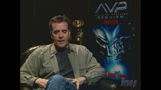 Aliens vs. Predator Requiem (Special Edition Extreme Unrated Set) DVD Interview - Tom Woodruff