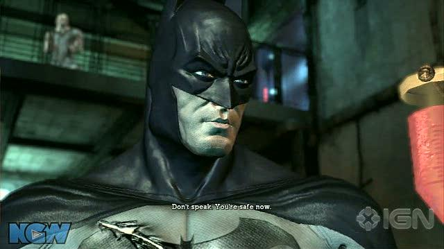Batman Arkham Asylum Video Guide-Walkthrough - BAA - Save Dr. Young and Dr