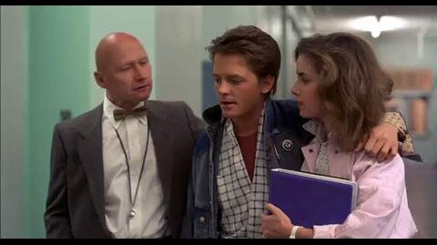 Back to the Future - Caught by the principal