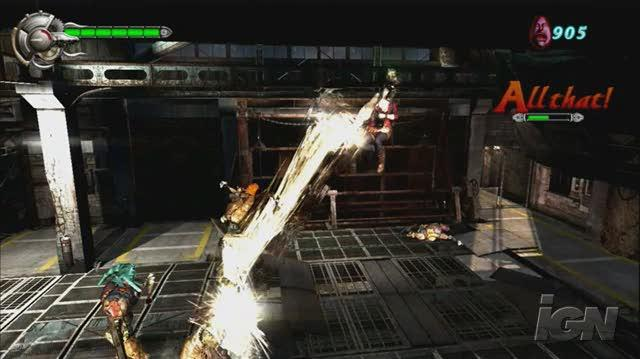 Devil May Cry 4 PlayStation 3 Trailer - Gameplay Teaser