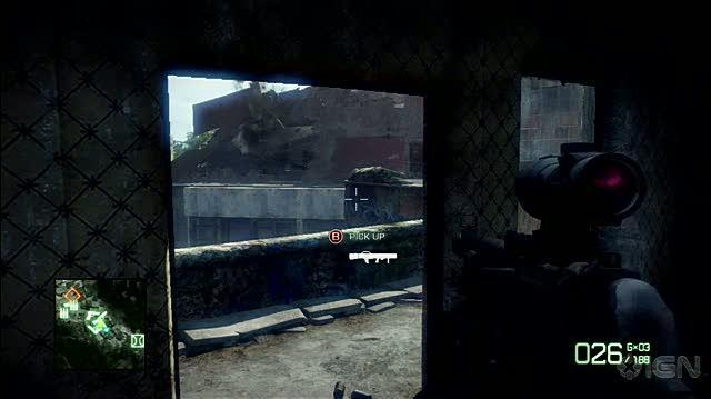 Battlefield Bad Company 2 Xbox 360 Gameplay - Missed Rocket
