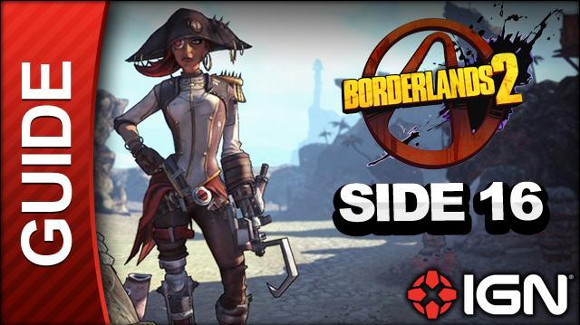 Borderlands 2 Captain Scarlett and Her Pirate's Booty DLC Walkthrough - Just Desserts For Desert Deserters - Side Mission (Part 16)