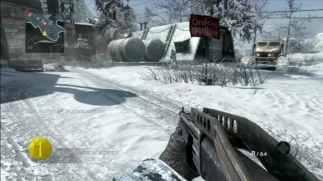 Call of Duty Black Ops Gun Game Gameplay