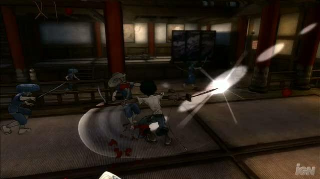 Afro Samurai PlayStation 3 Gameplay - Killing In the Name Of