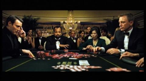 James Bond Gambling Game