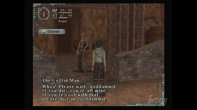 Baroque Nintendo Wii Gameplay - Goddamn Coffin Guy