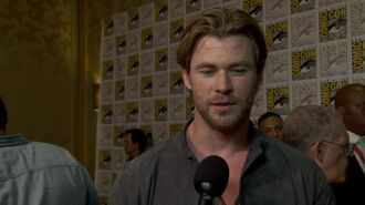 Avengers Age of Ultron - Chris Hemsworth SDCC 2014 Interview