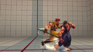 Ultra Street Fighter IV - Rolento Gameplay