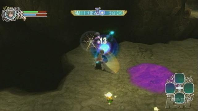 Rune Factory Frontier Nintendo Wii Video - Hammers and swords