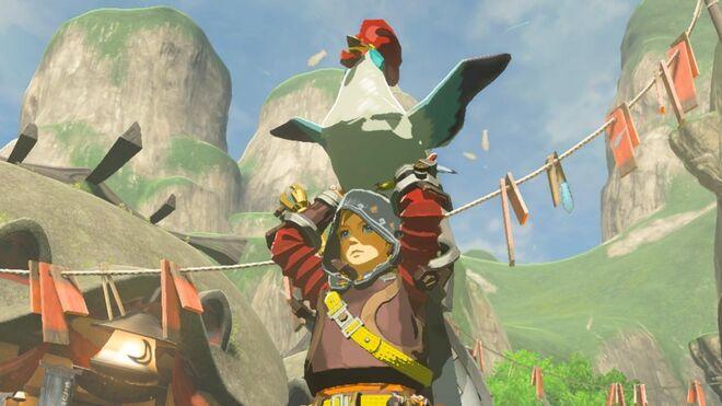 Zelda Breath of the Wild - Cuccos Lay Eggs