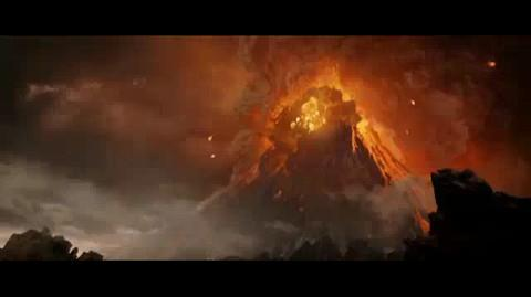The Lord of the Rings The Return of the King - Escaping Mount Doom