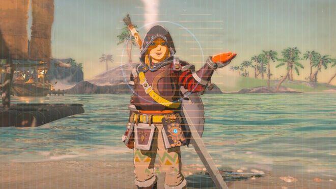 Zelda Breath of the Wild - Link Has Funny Selfie Poses