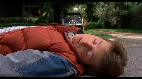 Back to the Future - Marty gets run over