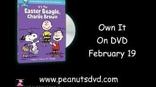 Peanuts It's The Easter Beagle, Charlie Brown Deluxe Edition