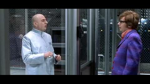 Austin Powers in Goldmember - Freudian slips