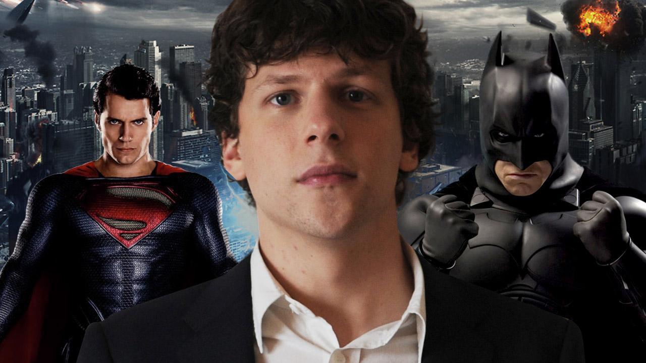 Batman vs. Superman What Do We Think of Jesse Eisenberg Being Cast as Lex Luthor?