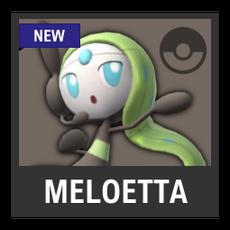 Super Smash Bros. Strife character box - Meloetta