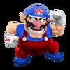 Super Smash Bros. Strife recolour - Wario 15