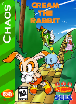 Cream the Rabbit Box Art