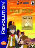Sakaki and Kaorin Adventures 2 Wild West Box Art