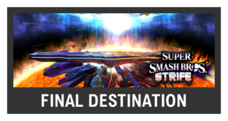 Super Smash Bros. Strife stage box - Final Destination