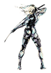 Brawl Sticker Raiden (MGS2 Sons of Liberty)