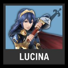 Super Smash Bros. Strife character box - Lucina