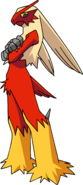 Blaziken cross