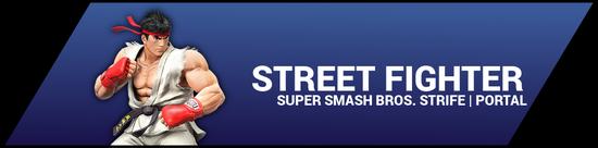 SSBStrife portal image - Street Fighter