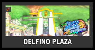 Super Smash Bros. Strife stage box - Delfino Plaza