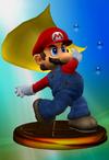 Mario Trophy (Smash) melee