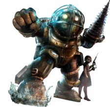 Bioshock - Big Daddy and Little Sister