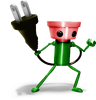 Super Smash Bros. Strife recolour - Chibi-Robo 6