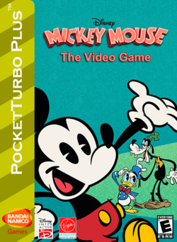 Mickey Mouse The Video Game Box Art 2
