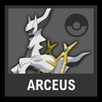 Super Smash Bros. Strife Pokémon box - Arceus